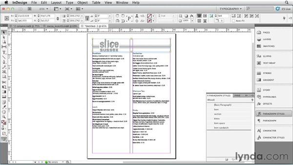 Creating a single-page menu - how to make a restaurant menu on microsoft word