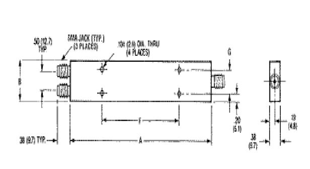 MACOM Power Combiners and Dividers