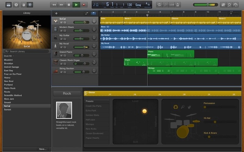 Fan Garageband Garageband For Mac Updated With Mp3 Export New Drummers And More