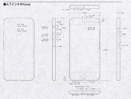 apple iphone se diagram
