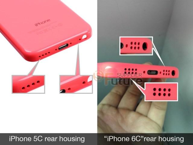 iPhone 6c Rear Bottom