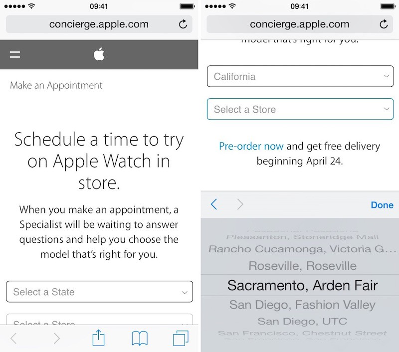 How to Schedule an Apple Watch Try-On Appointment - MacRumors