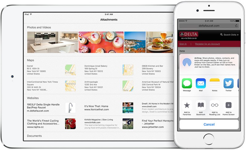 Inside iOS 9 Notes Gains Checklists, Photos, Sketches and More