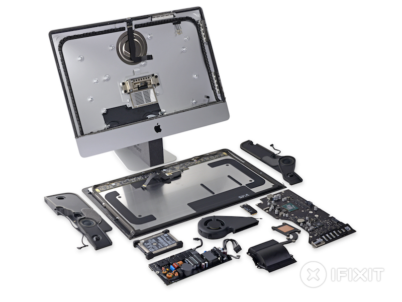 Iphone X Teardown Wallpaper Ifixit Teardown Of New 21 5 Inch 4k Imac Reveals Dci P3