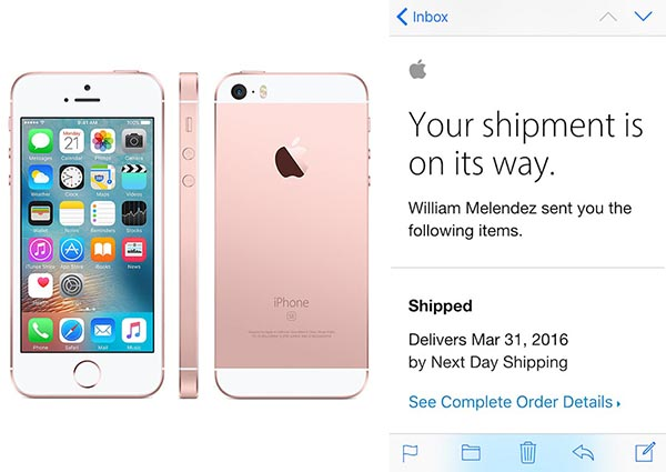 Iphone Bestellen Iphone Se And 9 7 Quot Ipad Pro Orders Now Shipping Ahead Of
