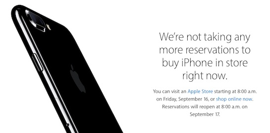 Apple Will Resume \u0027Reserve And Pick Up\u0027 for iPhone 7 in US and - apple store resume