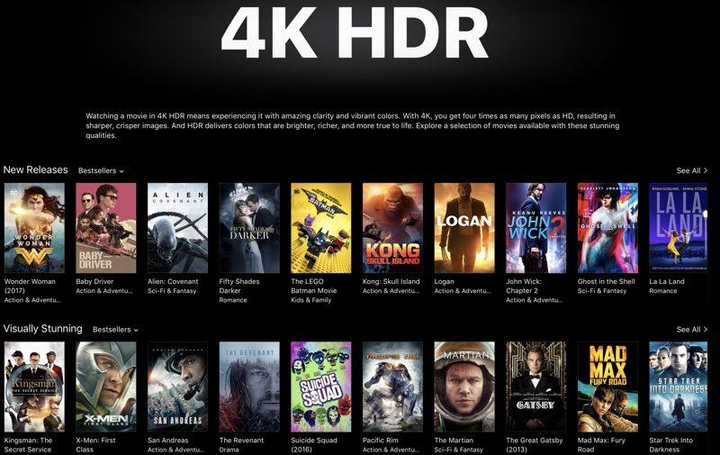Macbook Animated Wallpaper Apple Highlighting 4k Hdr Movies In Itunes Ahead Of Apple