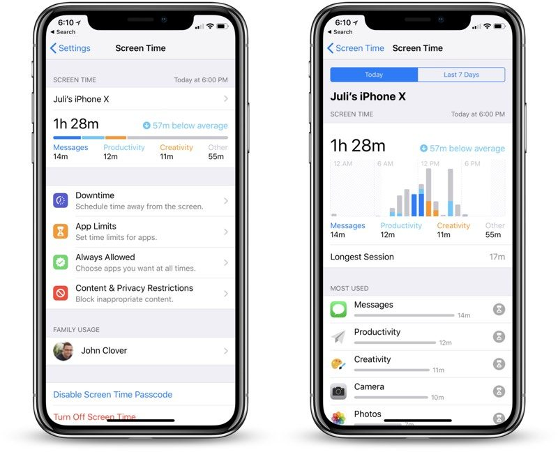 Hands-On With iOS 12\u0027s New Screen Time Feature With App Usage Stats
