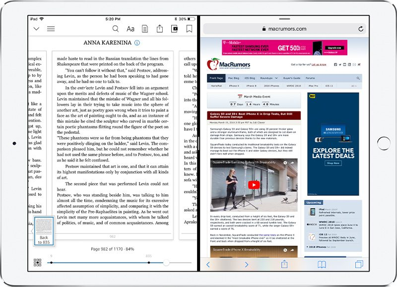 Amazon Kindle App for iOS Gains Support for iPad\u0027s Split View