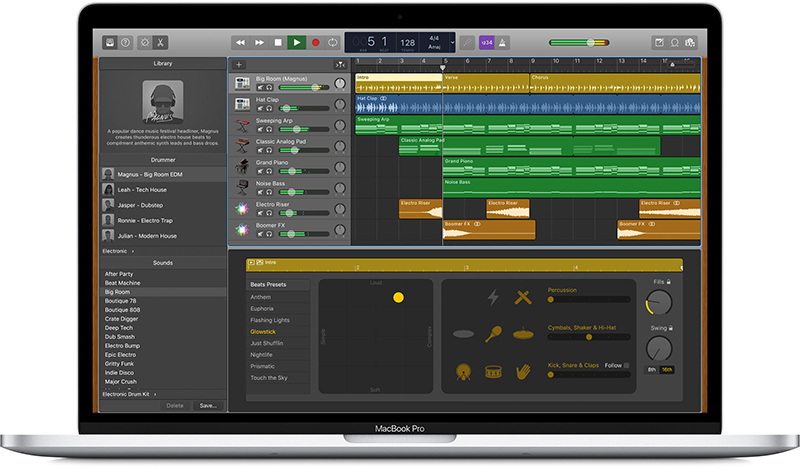 Garageband X How It Works Pdf Garageband For Mac Updated With New Drummers Loops Sound Effects