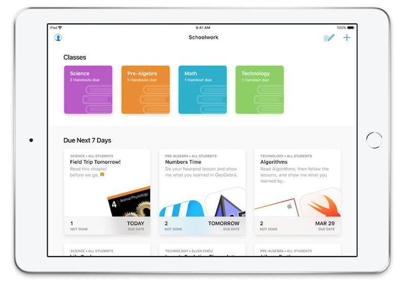 Apple\u0027s Free Schoolwork App Now Available to Teachers - Mac Rumors