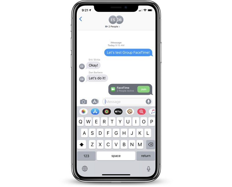 How to Make a Group FaceTime Call on iOS 12 - MacRumors