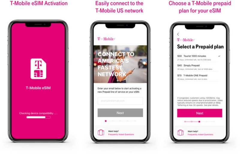 T-Mobile Becomes Third US Carrier to Offer eSIM Support on iPhone