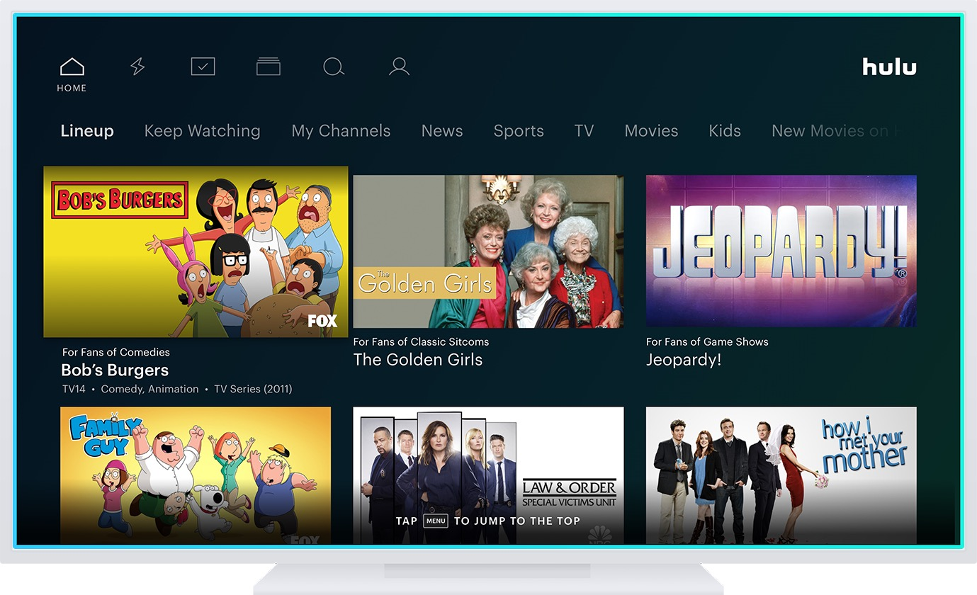 Hulu Shows Upcoming Hulu App Interface Changes Aim To Simplify Navigation And