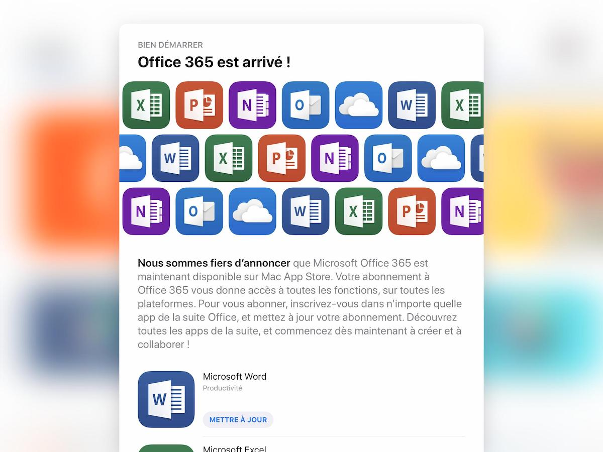Office Stores Microsoft Office Launching Soon On Mac App Store Update Out Now