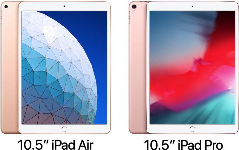 2019 105-Inch iPad Air vs 2017 105-Inch iPad Pro - MacRumors