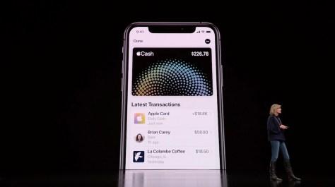 Apple Cash cards
