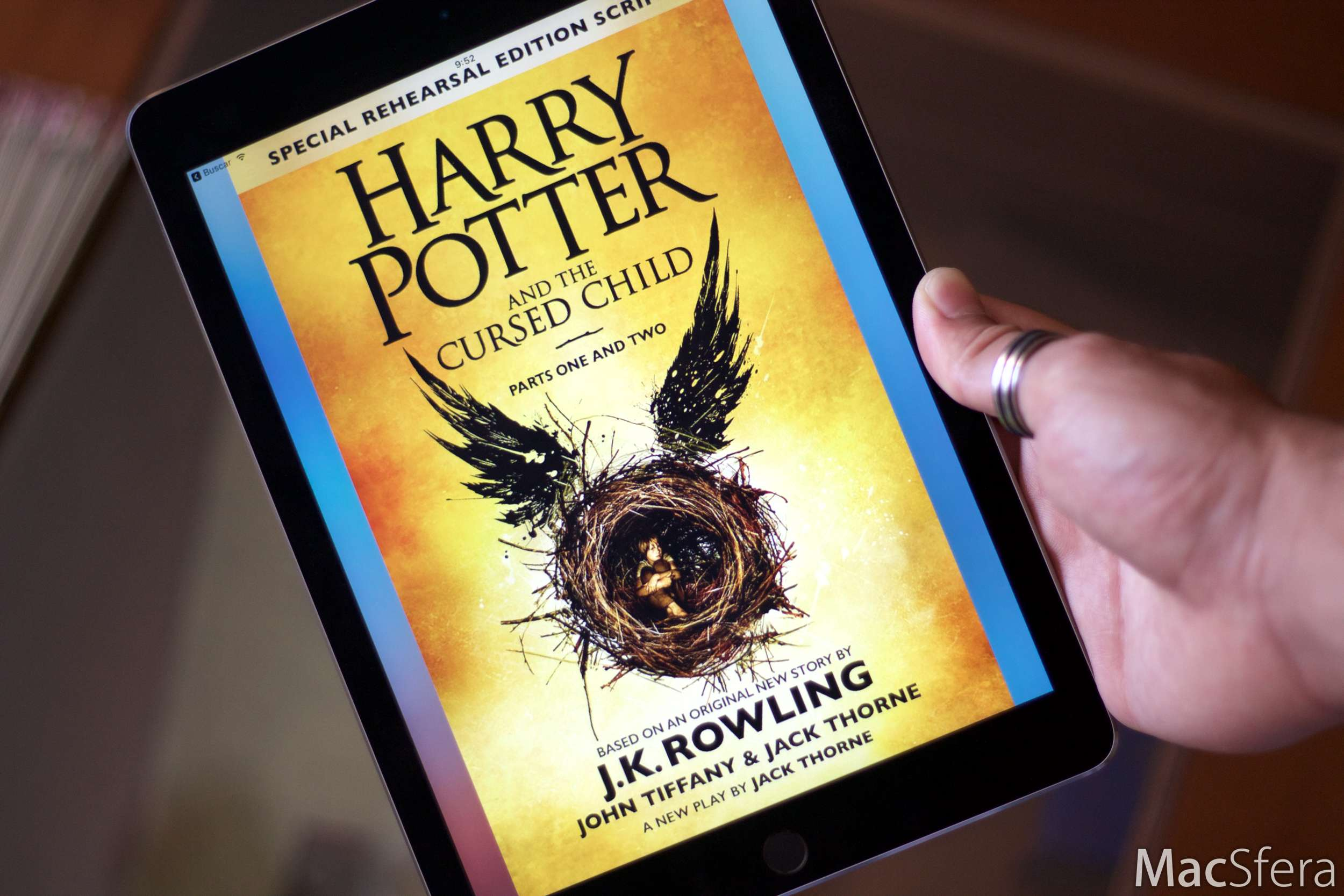 Octavo Libro De Harry Potter Harry Potter And The Cursed Child Llega A La Ibooks Store