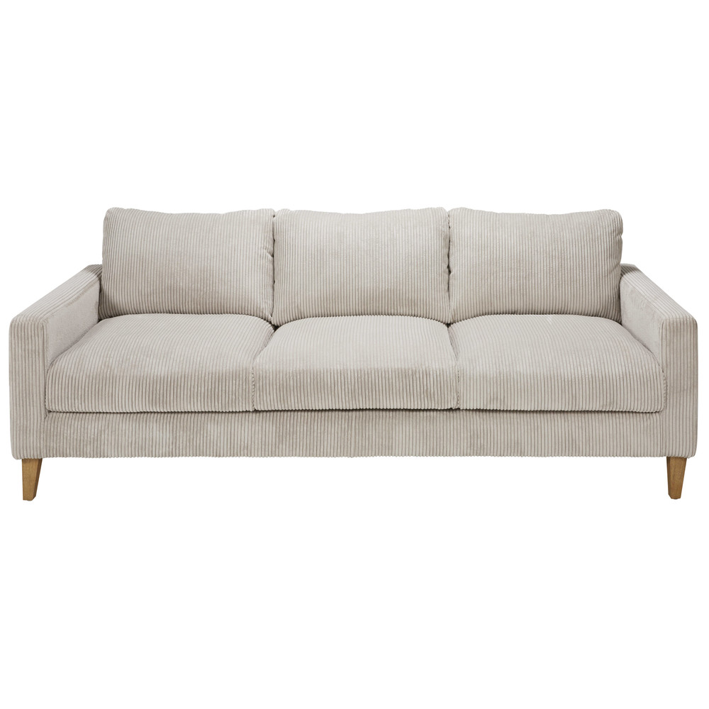 Corduroy 3 Seater Sofa Light Grey Corduroy 4 Seater Sofa Holden 1 029 00 Port
