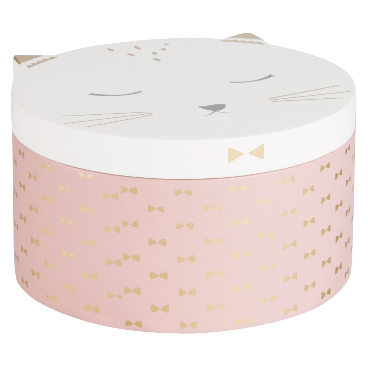 Maisons Du Monde Jewellery Box Pink And White Cat Jewellery Box Maisons Du Monde