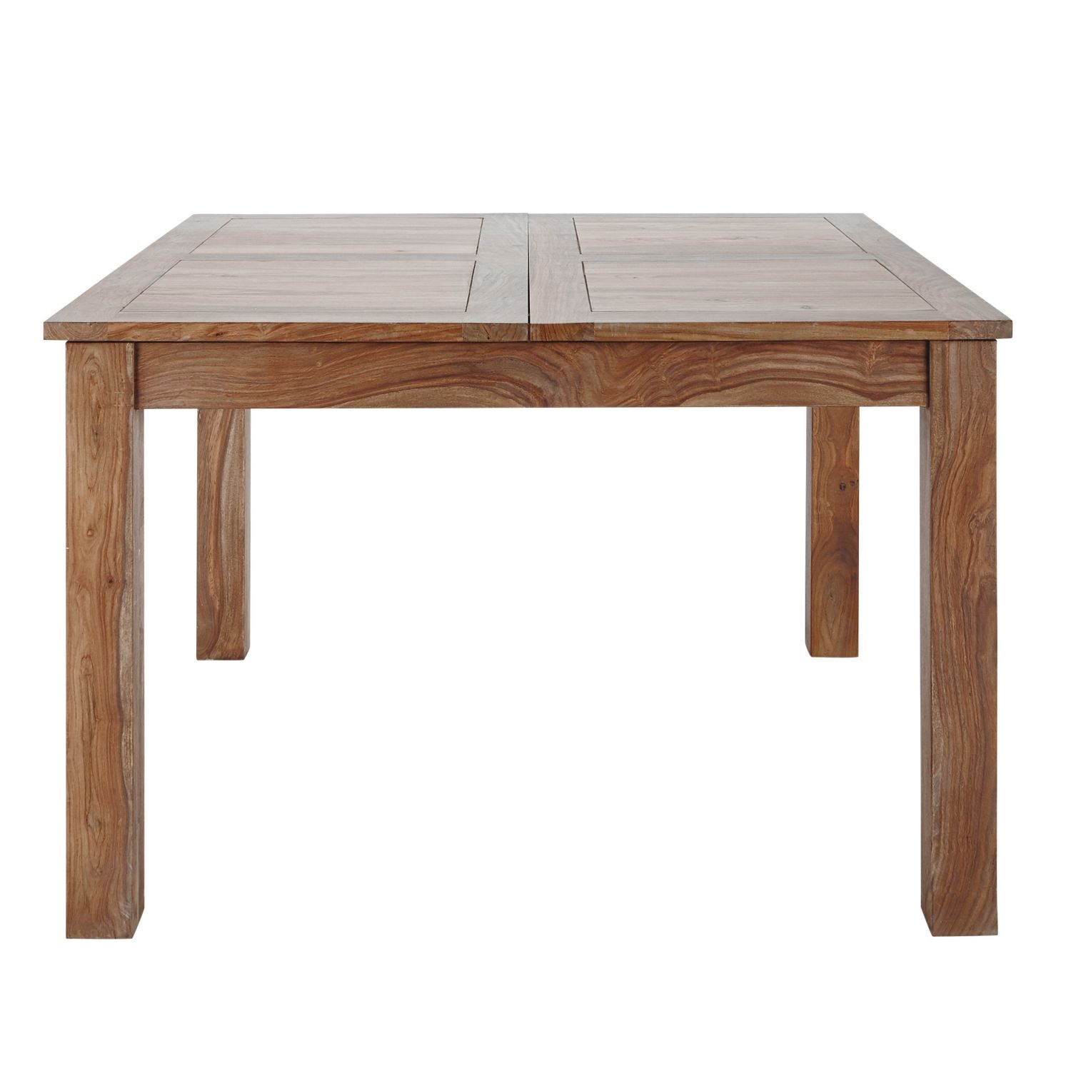 Maison Du Monde Esstisch Sheesham Wood Extendible 8-10 Seater Dining Table L130/190 ...