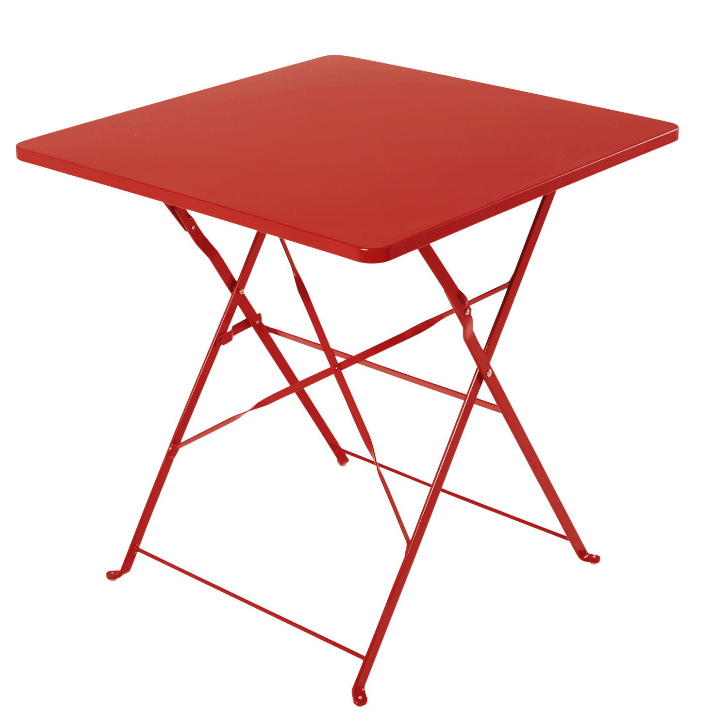 Table De Jardin Rouge Table De Jardin Aluminium Maison Du Monde