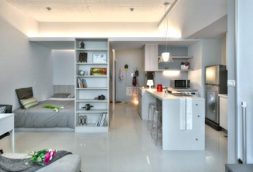 Medium Of Small Space Apartment