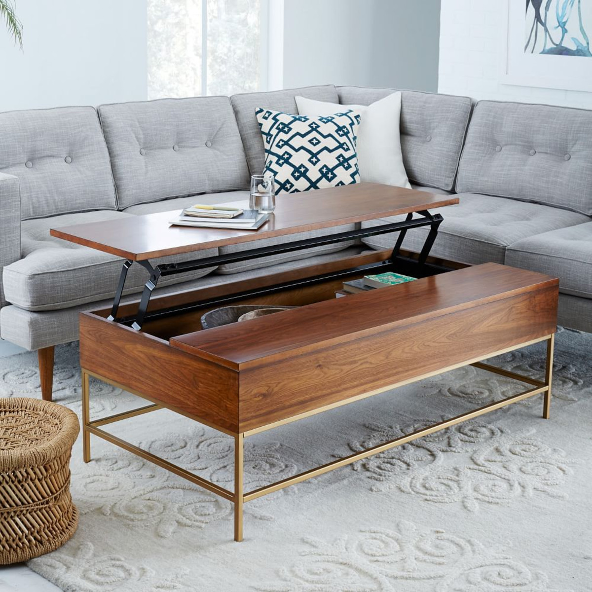Coffee Table Small Space 8 Best Coffee Tables For Small Spaces