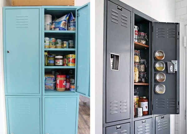 Where To Find Locker Shelves48 Kitchen Storage Hacks And