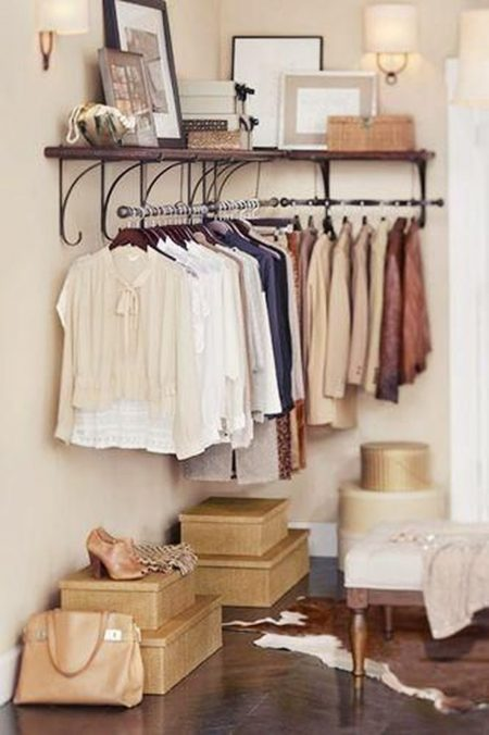 Bedroom Clothes Storage 53 Insanely Clever Bedroom Storage Hacks And Solutions