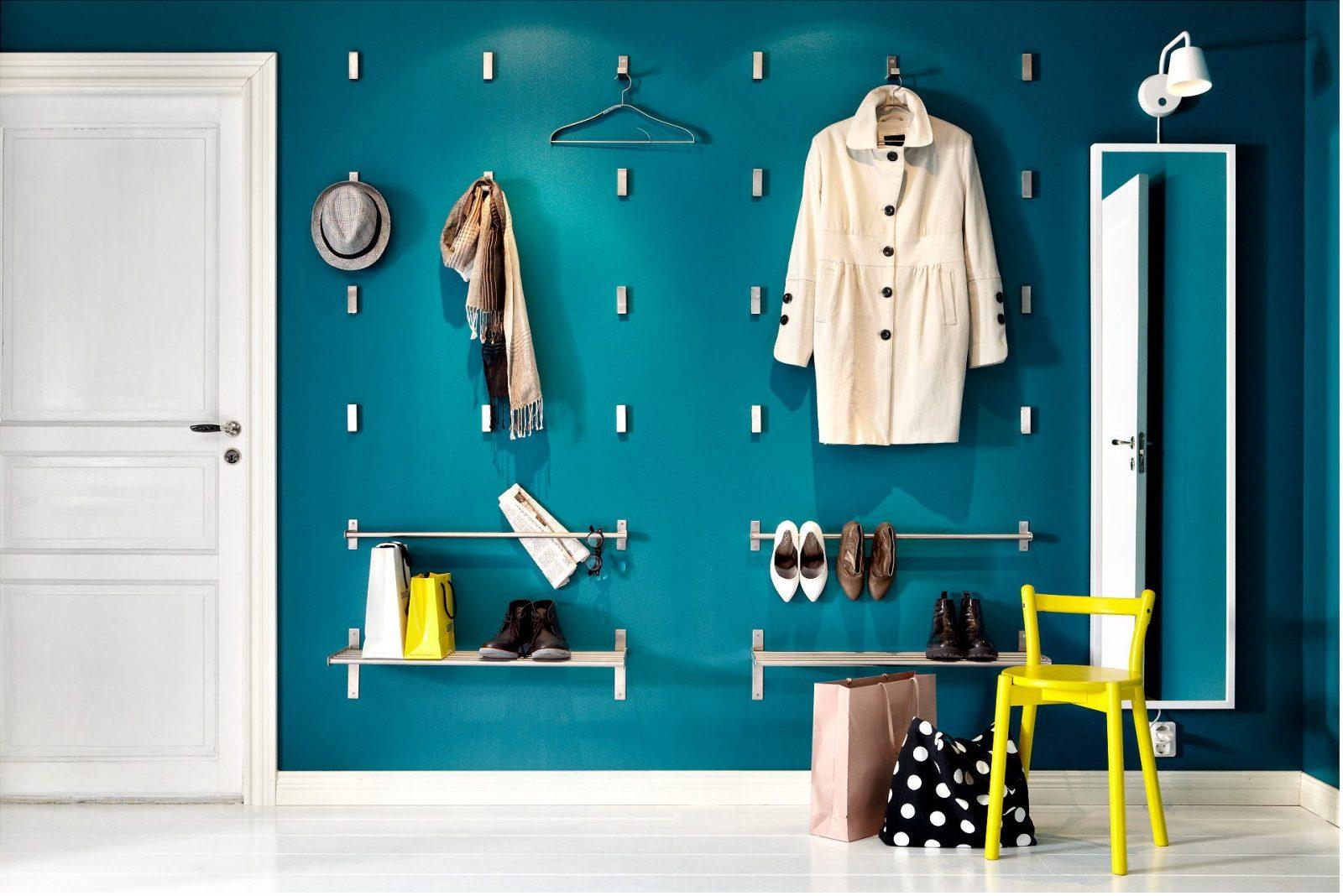 Fullsize Of Long Wall Shelf With Hooks