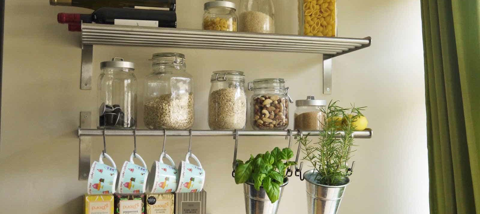 Kitchen Shelves Wall Mounted 11 Clever And Easy Kitchen Organization Ideas You Ll Love