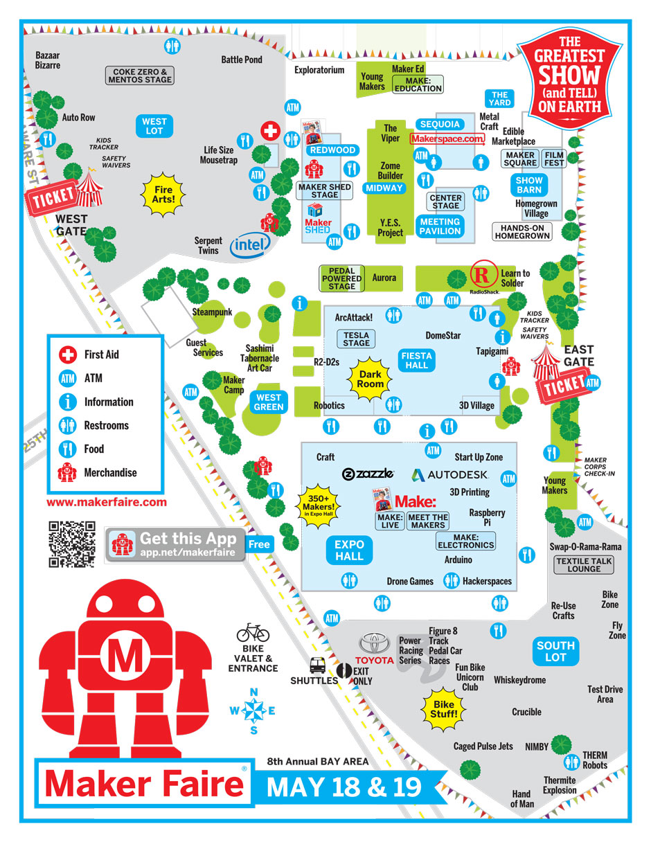 World Maker Faire New York 2013 Map