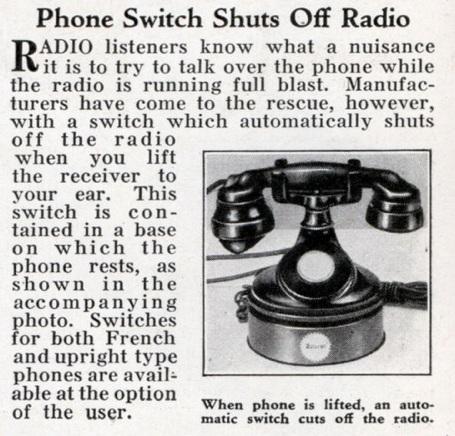 Med Phone Radio Switch