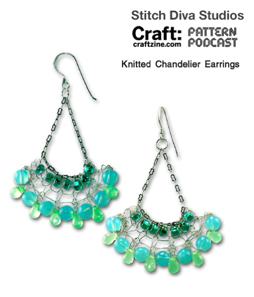 Stitchdiva Knitearrings