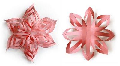 3D-Paper-Snowflakes
