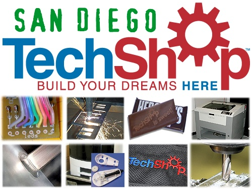Techshop San Diego Make Blog