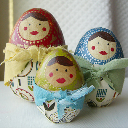 matryoshka eggs