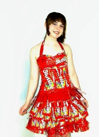 Skittlespromdress