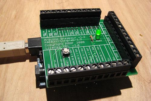 Arduino Breakoutshield