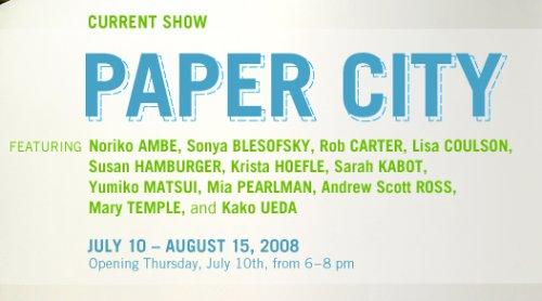 paper city show