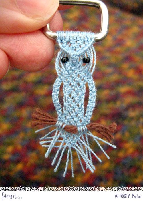 Macrame Owl01 O