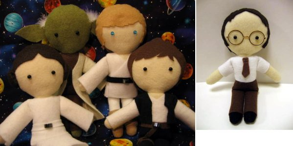 soft star wars doll