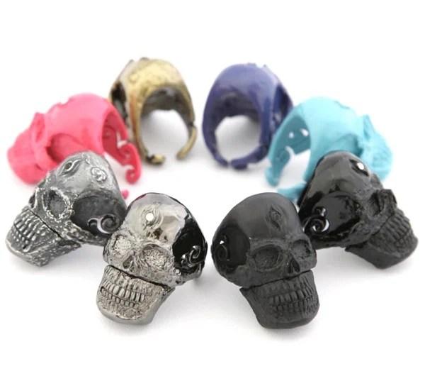 Usb Skull Ring 001