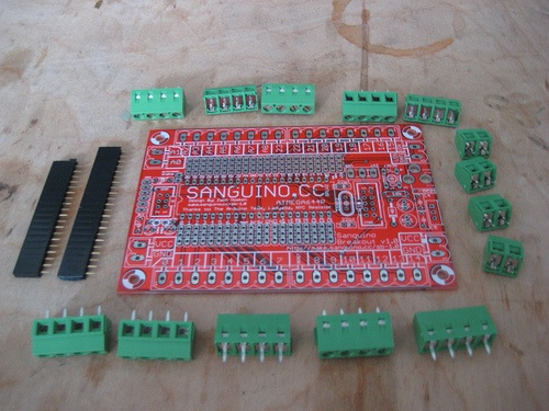 Sanguino-Breakout-Shield-V1.0-Kit