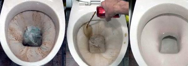 clean a toilet with coke make. Black Bedroom Furniture Sets. Home Design Ideas