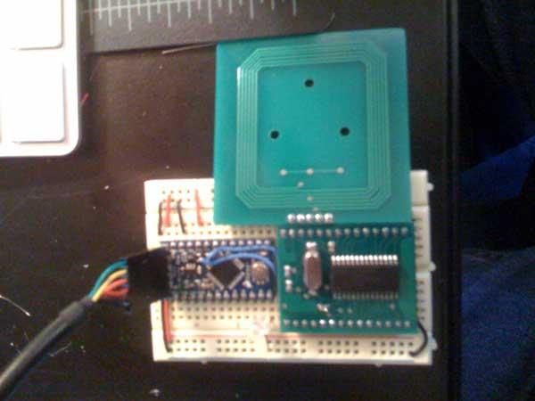 ETech RFID reader