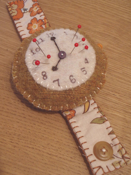 Wristwatchpincushion