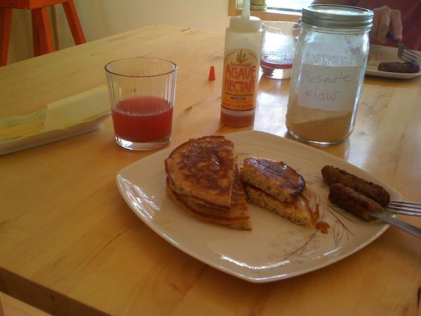 Mesquiteflour Pancakes