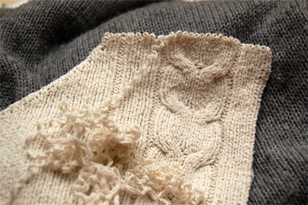 How To Unravel Knitting Stitches : Knitting Pattern: Stash Socks Make: